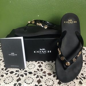 Coach Shoes - Coach Flip Flops